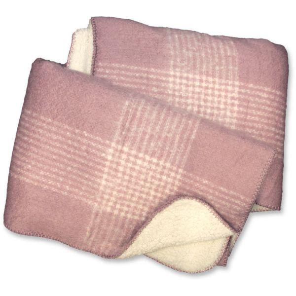 """Kuscheldecke """"CINDY"""" 130 x 160 cm, pink"""