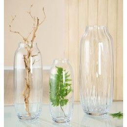 "Vase ""Facetta"" 60 cm Höhe"