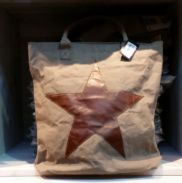 "Vintage-Tasche ""Big STAR"""