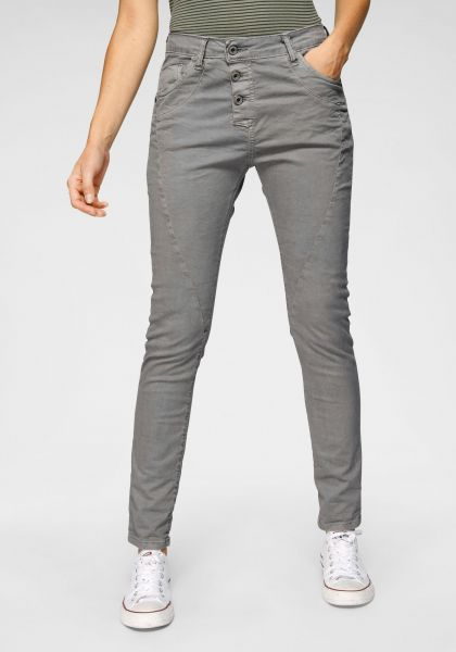 "Please Jeans ""P78A"" Boyfriend-Jeans Grey - Grigio Denim"