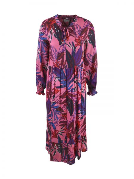 MILANO ITALY Damen Kleid, Pink Print