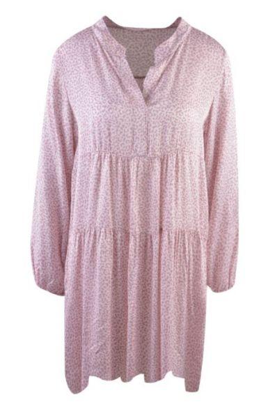 HeartKiss Damen Kleid Berryrose Print