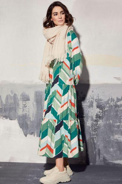 MILANO ITALY Damen Kleid, Jade Print