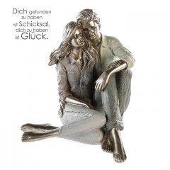 """Skulptur """"Modern Couple"""""""