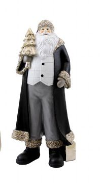 Kaheku Figur GAVIN SANTA Sortiment weiß-schwarz 32 cm Höhe
