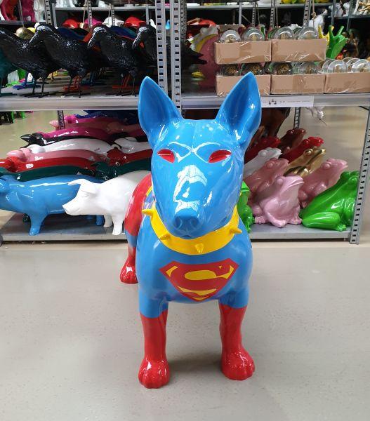 "Outdoor Hund Design Pitbull ""Superman"""