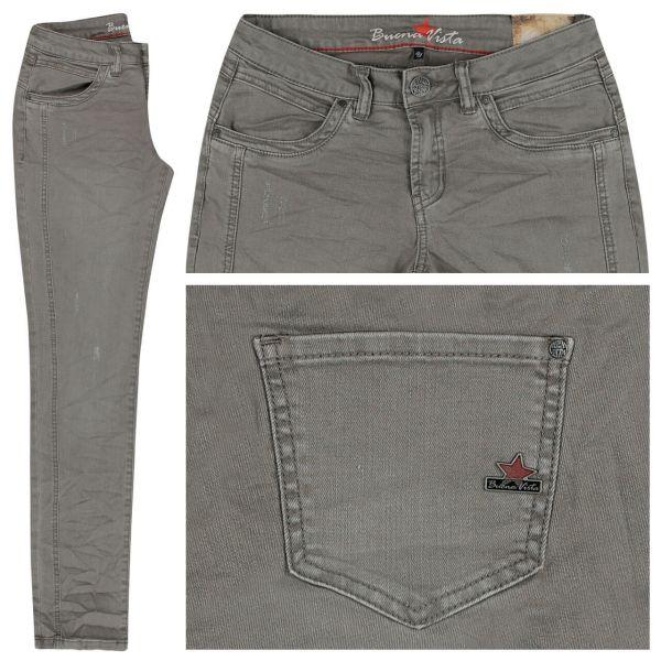 Buena Vista Damen Jeans SOPHIE, colour denim steel grey