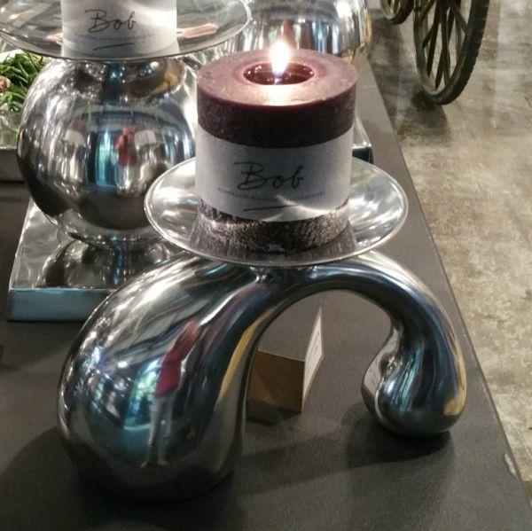 """Kerzenständer """"Dumble Tisch"""" Alu"""
