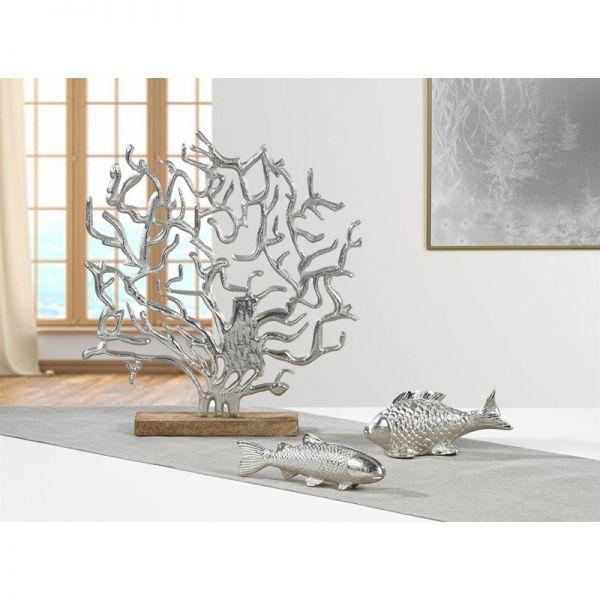 Kaheku Fisch TONGA silber vernickelt 9,5cm Höhe