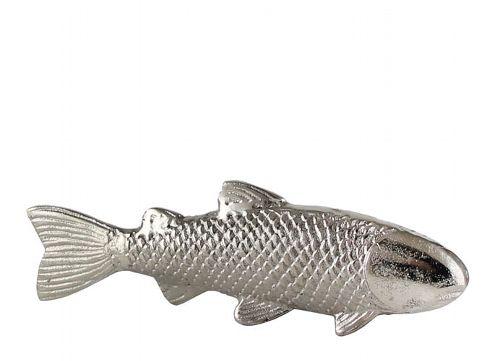 Kaheku Fisch TONGA silber vernickelt 7,5cm Höhe