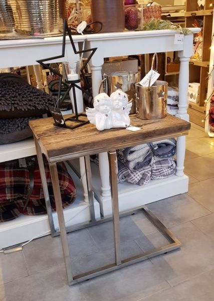 "Tisch ""Coffee Table"" silber Holz Höhe 55cm Diga Comore"