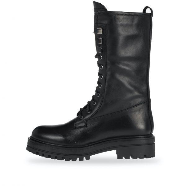ANNƎ Shoes Damen Biker-Boots Schwarz