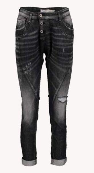 "Please Jeans ""P78A W4P"" Boyfriend-Jeans nero denim"