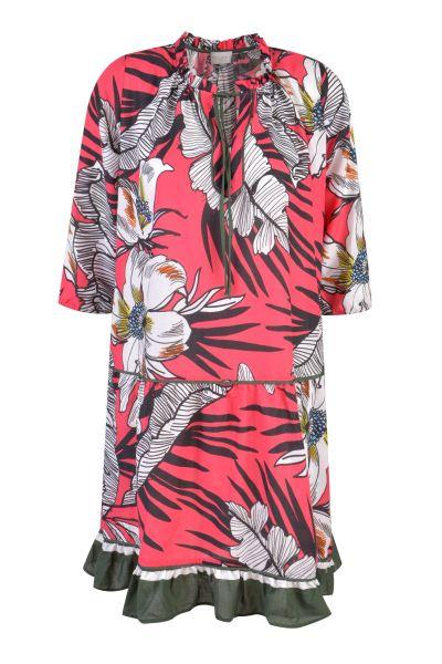 MILANO ITALY Damen Kleid, Fuchsia Print