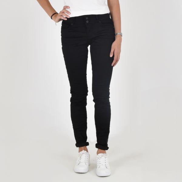 Buena Vista Damen Jeans Evi black