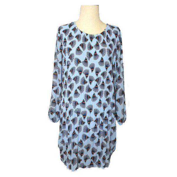 Wauw Kleid Hellblau Einheitsgröße