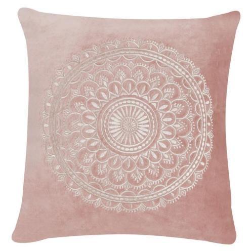 "Linen & More Kissen ""PRESTON"" 45 cm, soft pink"