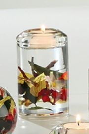 "Dreamlight Candela Classic ""Birds Paradise"" Höhe 12 cm Ø 7 cm"