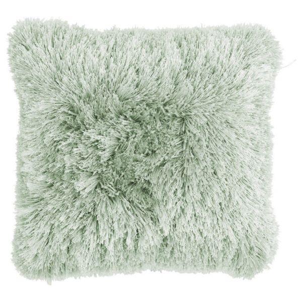 """Kissen """"Multi Fluffy"""" 45 cm,frosty green"""
