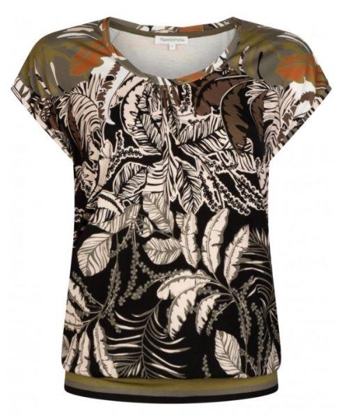 Tramontana - TOP Shirt mit Blattmuster