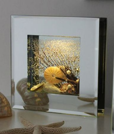 """Dream LED Rahmen Frames Medium """"Coral"""" 16 x 16 cm"""