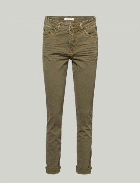 Summum Woman Five-Pocket-Hose Army Green