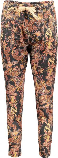 """Please Jeans """"P51G"""" Jogger Pants Indian Summer Allover-Print"""