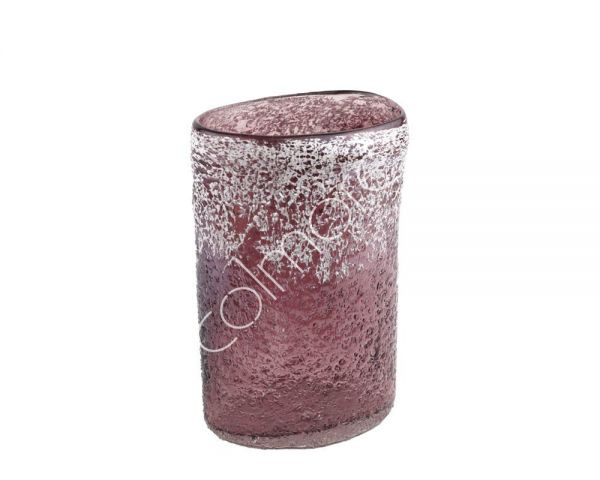 Colmore Vase Rosa handgearbeitet mundgeblasen, Höhe 30 cm