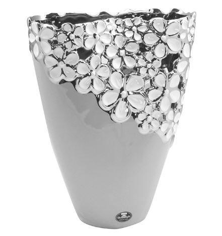 "Vase ""Diana Grey"" Höhe 22,5 cm Ø 18 cm"