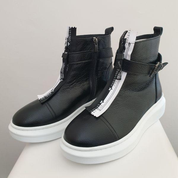 ANNƎ Shoes Damen Sneaker High Schwarz