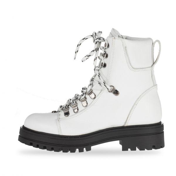 ANNƎ Shoes Damen Booties White