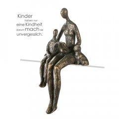 "Skulptur ""Lesestunde"""