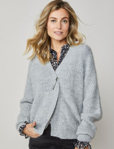 Summum Woman Cardigan Airy Alpaca