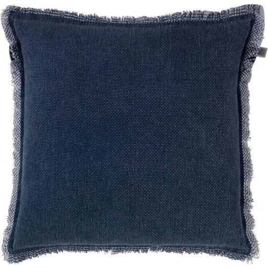 """Kissen """"BURTO"""" dark blue 45 x 45 cm"""