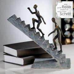 "Casablanca Skulptur ""Staicase"" bronze-finish"