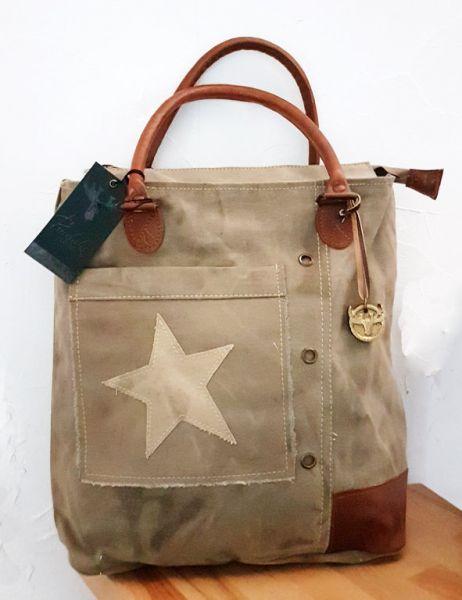 """Vintage-Handtasche """"Star-Poket"""""""