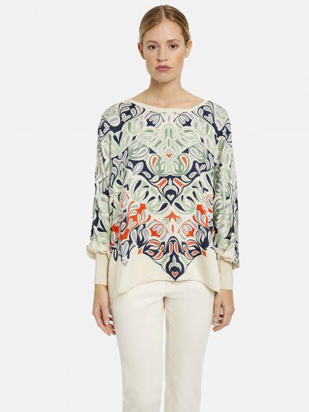 MILANO ITALY Damen Blusenshirt aus Viskose - Grün