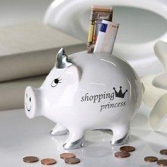 "Spardschwein ""Shopping Princess"""