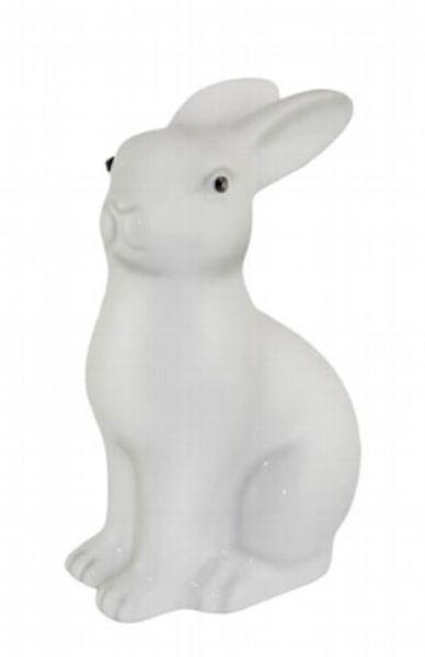 Kaheku Figur NIVO Kaninchen weiss 21,5 cm Höhe