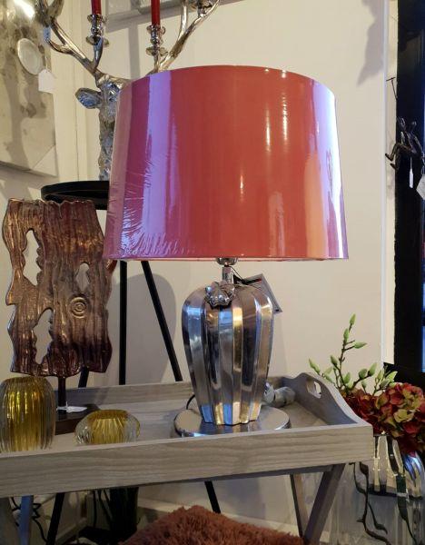 """Lampe """"Cactus"""" Aluminum inclusive Schirm 61 cm Höhe"""