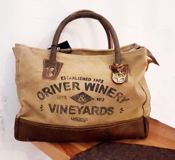 "Vintage-Handtasche ""Vineyards"""