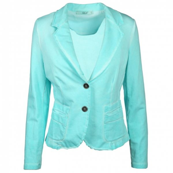 iSILK Blazer Cold Dye in Aqua