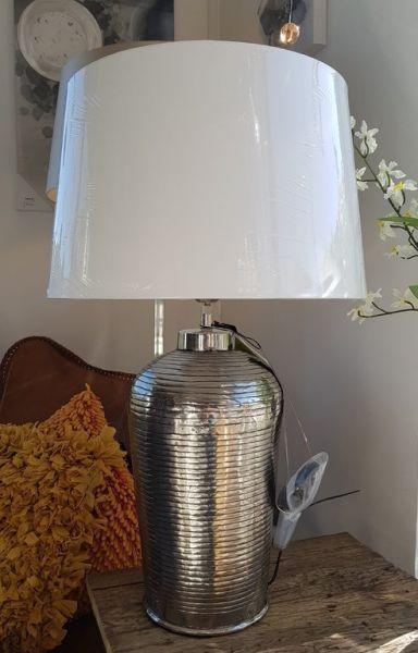 """Lampe """"Chitae"""" Aluminum 74cm Höhe"""