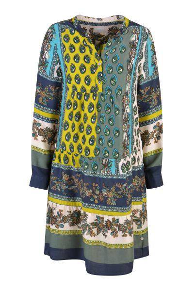 MILANO ITALY Damen Kleid, Blue Print