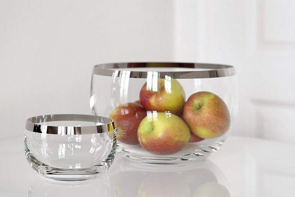 "Fink Glasschalen - Serie ""PLATINUM"" Höhe 8 cm Ø 13 cm"
