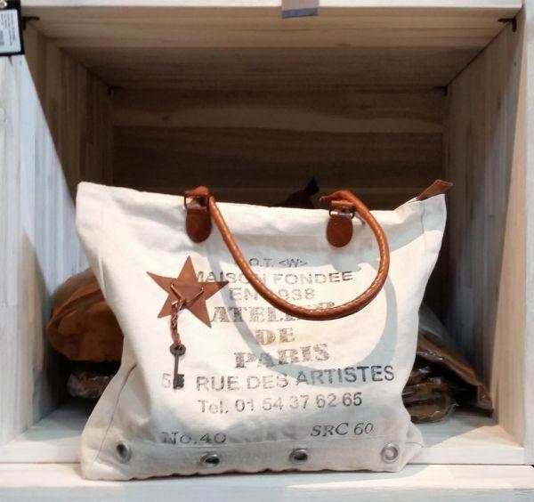 """Vintage-Schultertasche """"Atelier de Paris"""""""