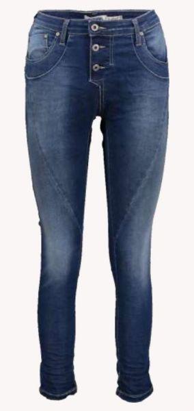 """Please Jeans """"P78A P47Q"""" Boyfriend-Jeans Blue Denim"""