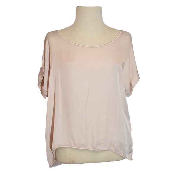 Pink Cherry Shirt Lachsfarbend One-Size